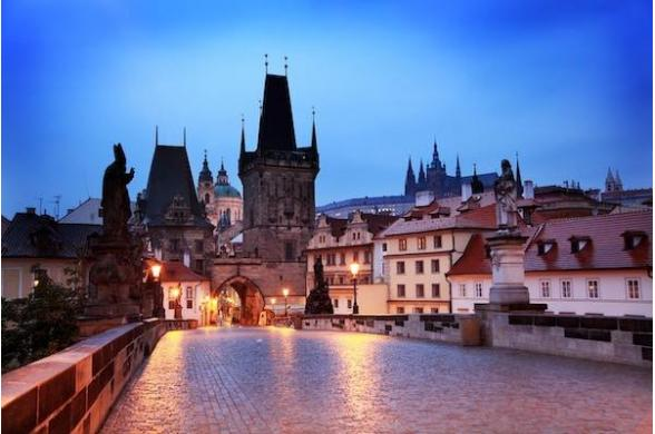 Cap Sur Prague Et Vienne - Photo