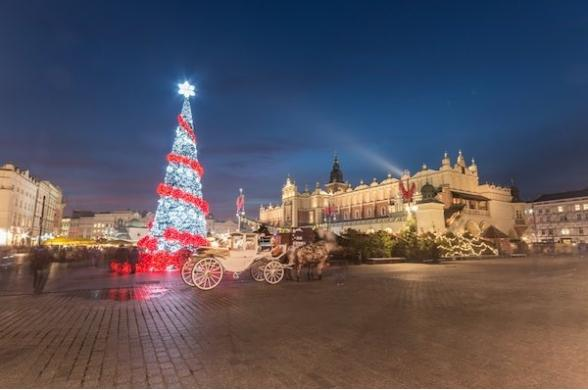 Marches De Noel A Cracovie - Photo
