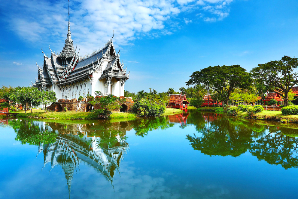 Charmes de Thaïlande