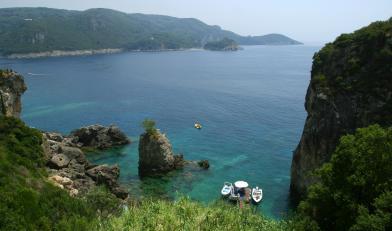 Corfou, les M�t�ores et l'Albanie