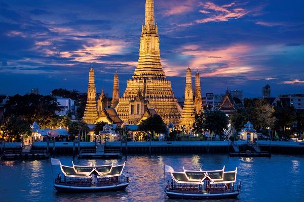 Orchidées de Bangkok au triangle d'Or
