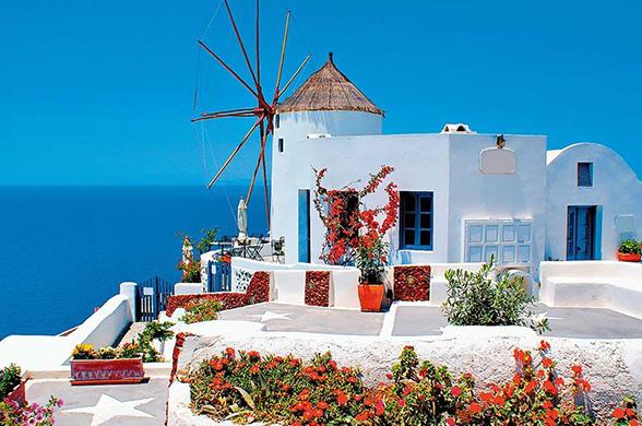 Circuit Découverte des Cyclades Santorin/Naxos ou Naxos/Santorin