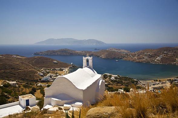 Croisière Perles des Cyclades en caïque depuis Paros