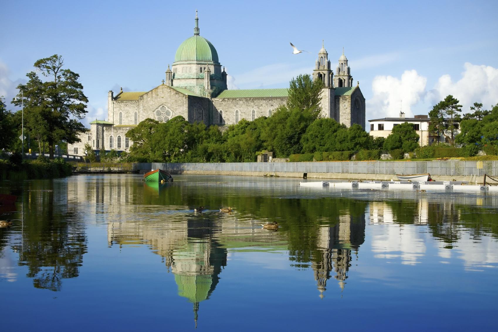Verte Irlande et Dublin