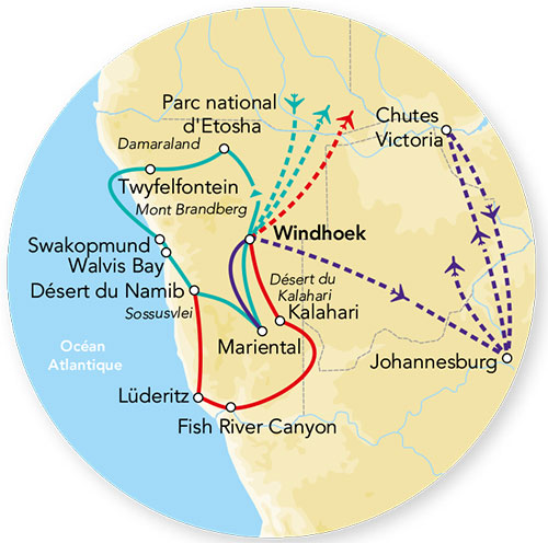 Splendeurs De Namibie & Extension Fish River Canyon 14j/11n - 2021 - Photo