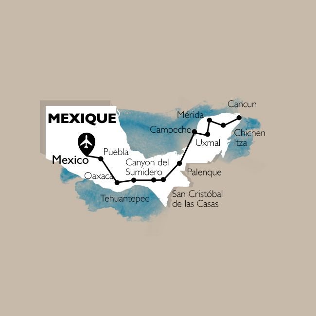 Circuit Mexique, Saveurs Et Civilisations Mexicaines + Extension Cancun - 30 Personnes Maximum - Photo
